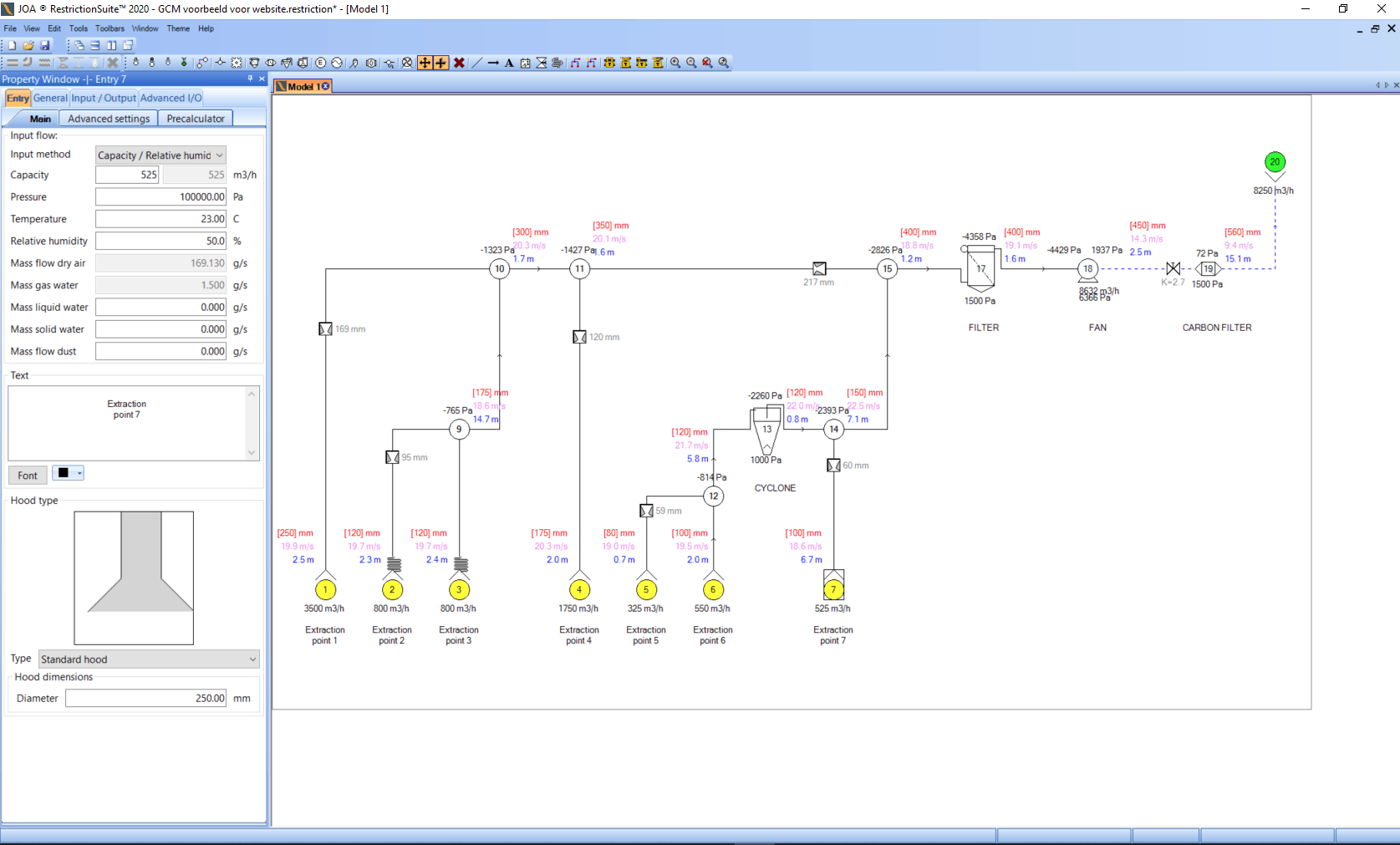 GCM Modeling Interface - JOA Air Solutions