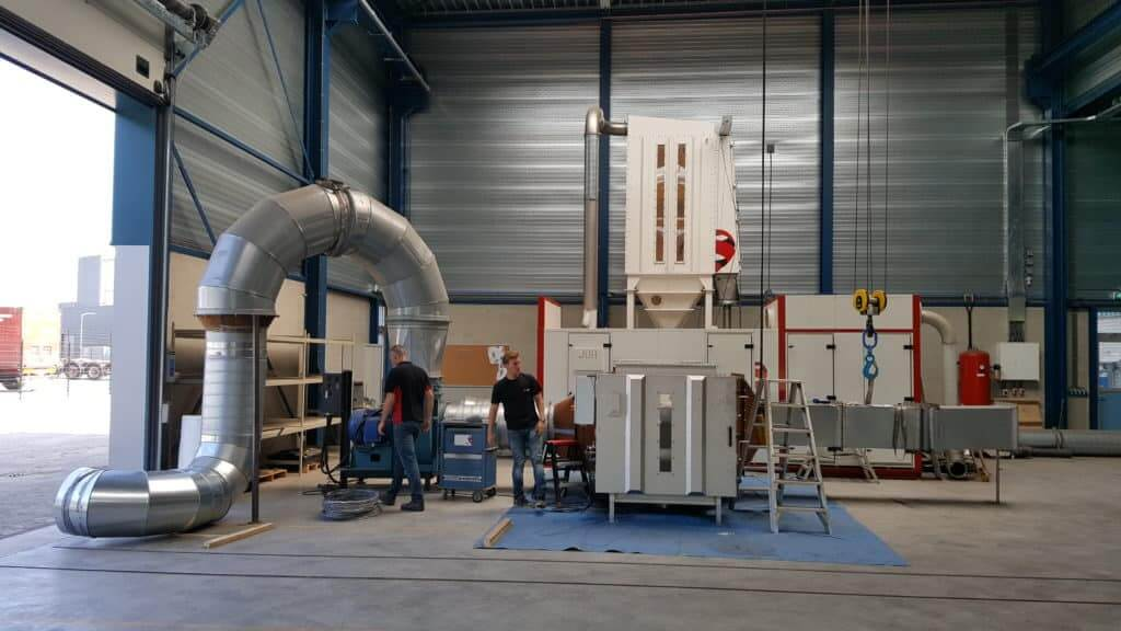 A tailored industrial air filtration system by JOA Air Solutions